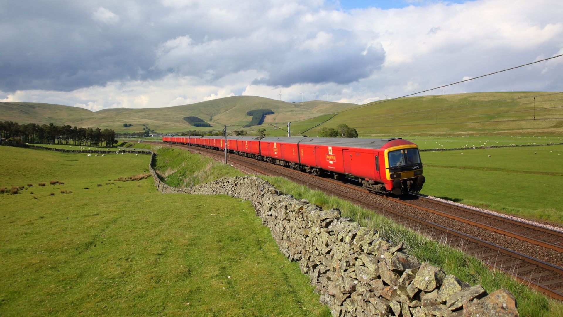 sustainable rail freight service